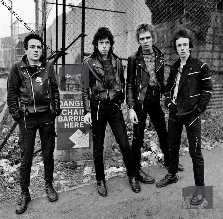 The Clash in Belfast - 1977