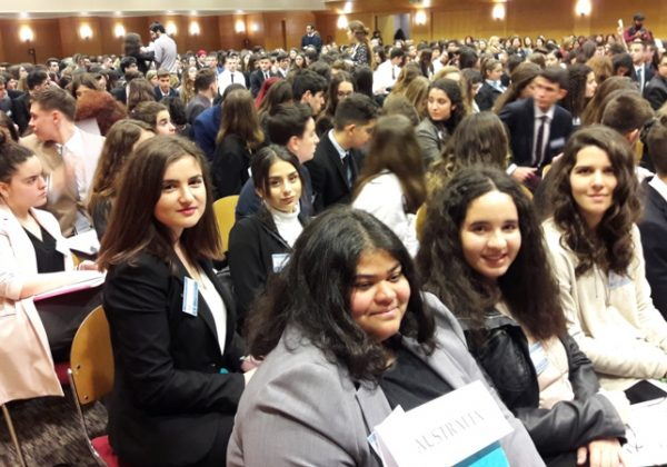 Προσομοίωση ΟΗΕ (AMUN- Athens Model United Nations) 2018