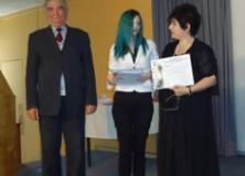 Βράβευση Μαθήτριας του Σχολείου σε Πανελλήνιο Λογοτεχνικό Διαγωνισμό