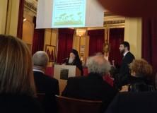 Xαιρετισμό-μήνυμα ελπιδοφόρον προς το Mαθητικό Συνέδριο «για μέλλον, καλλίτερον τού σήμερον» απηύθυνε ο Oικουμενικός Πατριάρχης στη Mεγάλη του Γένους Σχολή