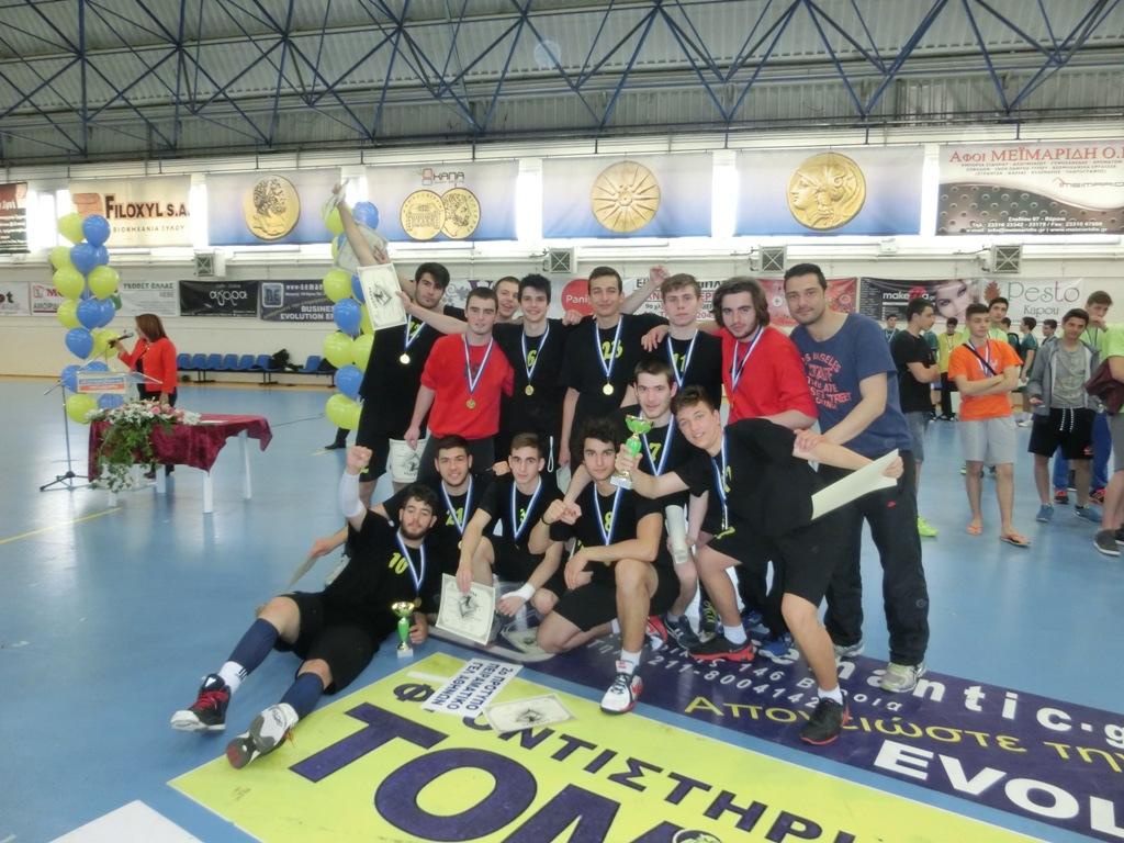Πρωταθλητές Ελλάδος και Κύπρου Λυκείων στη χειροσφαίριση