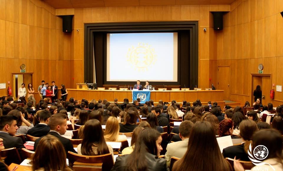 Δυναμική παρουσία του σχολείου μας στο 19ο Μοντέλο Ηνωμένων Εθνών