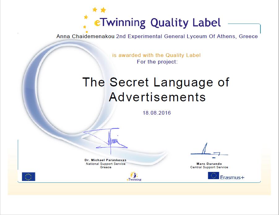 quality label_adslang