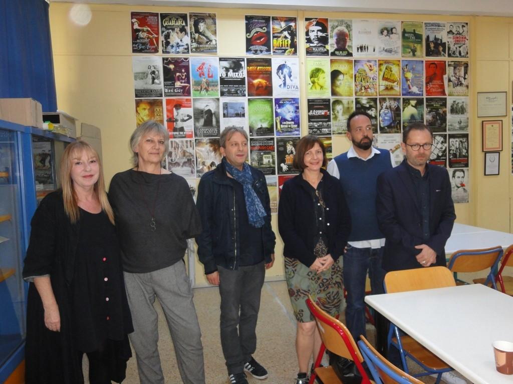 Επίσκεψη Γάλλων καθηγητών του σχολείου Charlemagne του Παρισιού στο σχολείο μας,  23-27 Οκτωβρίου